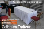 photo 1 - Vente table et nappe traiteur - ASI La Brodeuse