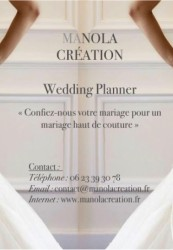 Manola Creation - Organisatrice de mariage