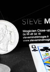 Magicien close up paris ile de france- Steve