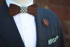Two Guys Bow Ties - Noeud papillon en bois